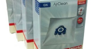 Miele Vacuum Cleaner Bags - Type G/N Airclean Filterbags, 4 Boxes