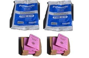Panasonic Vacuum Canister - Panasonic Canister Type C- 13 Paper Bags 10 PK # AMC-S5EP.